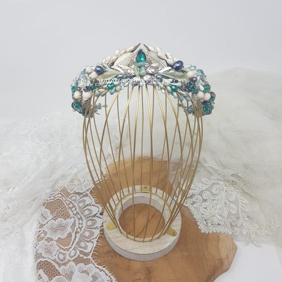 Corona-tiara de cristales