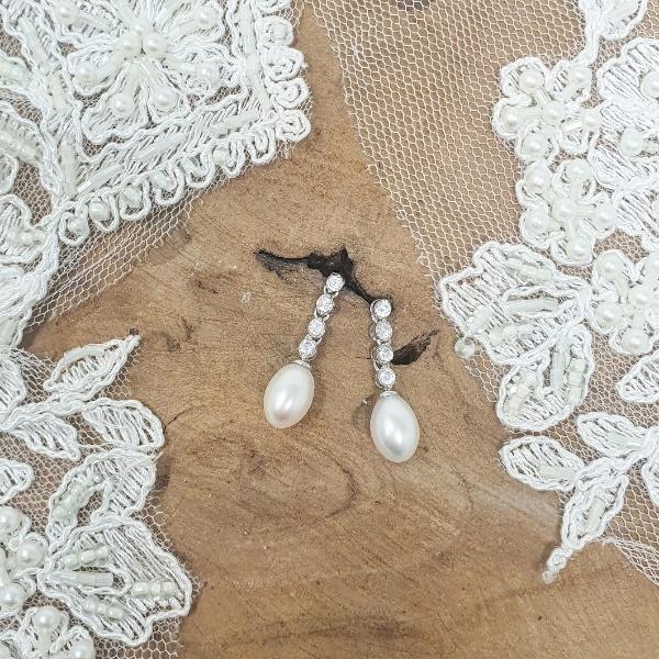 pendientes de novia
